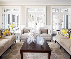 We love the bold and versatile accessories in this room! More living room designs: http://www.bhg.com/rooms/living-room/room-arranging/living-room-designs/?socsrc=bhgpin080713centerpiece=8