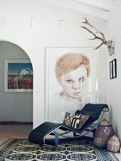 The home of Australian artist Michael Zavros and family, photo by Jared Fowler, for thedesignfiles.net