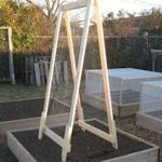 Another great trellis easy to make and move