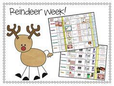 Visual Plans- Reindeer Week