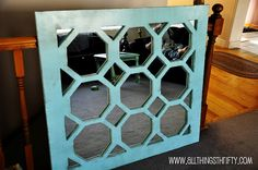 wall art, mirrors, diy uniqu, turquoise, turquois mirror, home accessories, uniqu turquois, diy mirror, homes