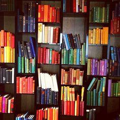 New way to organize my books!