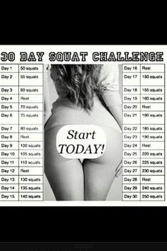 challenges, squat challenge, person fit, fitness, squats, exercis, health, curves, motiv
