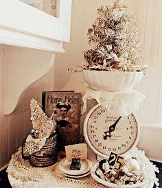 kitchens, vintage christmas, houses, christma tree, christma decor