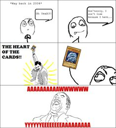 The heart of the cards! hahaha