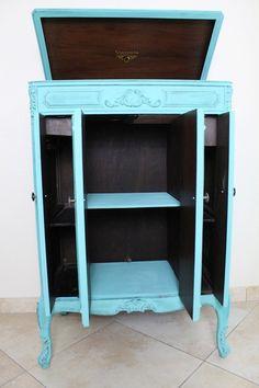 Antique Victrola Cabinet by VintageKeyAntiques on Etsy, $500.00