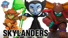 Skylanders Trap Team Minis Head Rush KaBoom Bushwhack + More #skylanders #toys #collecting