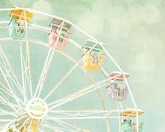 vintage carnival print for the nursery