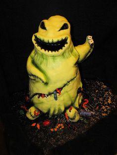 nightmare before christmas--oogie boogie cake