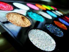eye makeup, dreams, colors, pallet, glitter makeup, paint, beauti, eyeshadows, rainbow