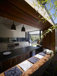 windowsill / bench by Carter Williamson Architects