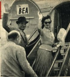 Vivien Leigh and Olivier in Madrid