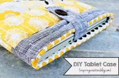 Tablet Case Tutorial by Inspiring Creations