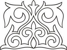 Татарский национальный орнамент узоры