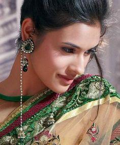 KASHMIRI Earrings, Pink red blue Kundan kashmiri Jhumka Earrings,wedding Jewellery,Jhumka earrings ,Indian Earrings by TANEESI Jewelry