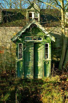 Abandoned house. Inverness, Scotland.