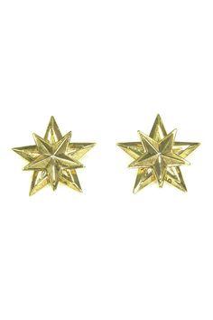 Auden Gold Star Earrings