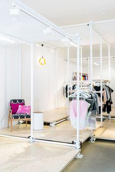 Interior of NO WODKA pop up store in Berlin