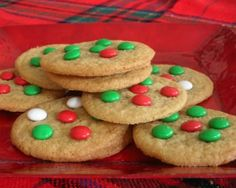 Perfect M&M Cookies (perfected by my friend Kathy, all butter, no shortening)