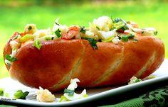Lobster Rolls with Lemon Vinaigrette and Garlic Butter | Noble Pig lobster rolls, lemons, food, lobsters, lemon vinaigrett, recip, yummi, garlic butter, vinaigrette