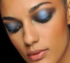beauty makeup, jeremi scott, blue, beauty blogs, smoki eye