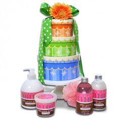 Birthday Spa Wishes Gift Basket