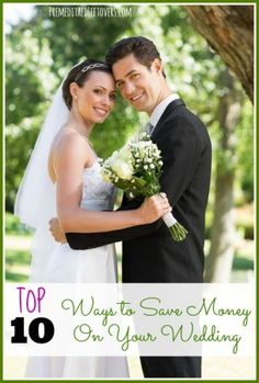 Top 10 ways to save money on your wedding