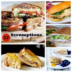 Sandwiches for Daysss! 22 Scrumptious Sandwiches recipes here!