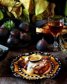Fig and Cheese Hors