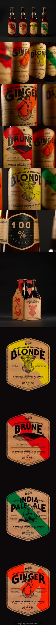 beer packaging.