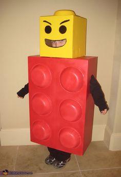 Lego Man Costume - Halloween Costume Contest via @costumeworks