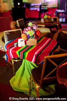 fiesta themed engagement party.  details: www.envyeventsllc...