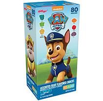 Kellogg's Paw Patrol Fruit Snacks (0.8 oz., 80 ct.)