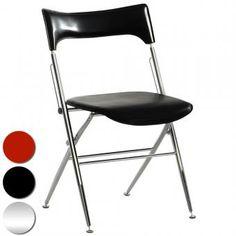 Chaise design on pinterest stables poufs and sons for Chaise qui ne prend pas de place