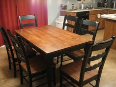 refinishing my dining room table on pinterest