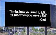 Billboards from God