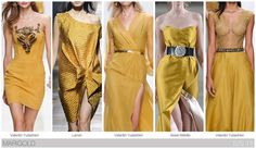 Top 10 Women's colors for Spring / Summer 2015, by Fashion Snoops. Marigold becomes a new yellow expression with rich golden undertones. ss2015, summer 2015, springsumm 2015, spring colour 2015, spring summer, fashion vignett, ss 2015, ss color 2015, color trends