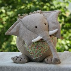 knuffel, free pattern, pattern elephant