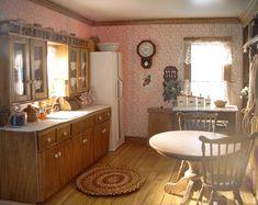 Victorian Style - Kitchen.  Left View