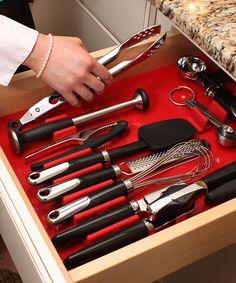 zulili zulilyfind, delux drawer, drawer organ, drawerdecor zulili, organizers, drawers, drawerdecor zulilyfind, organ zulilyfind, red delux