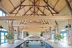 beam structur, pool houses