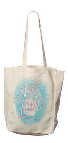 These totes are way cute. Proceeds help to provide children with Autism with communication therapy! :) Get one here ---> www.sevenly.org/Ryan