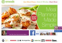 Plan, find and save time preparing healthy meals for your family with @Emealz