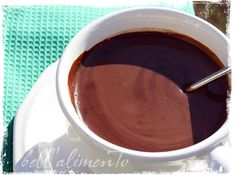 Recipe for authentic Italian cioccolata calda (hot chocolate). Trying it tonight, with a splash of dark rum. Mmmm.