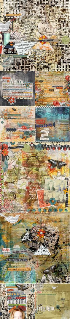 >> CT INSPIRATION using Monsters In My Head by Studio Basic and Sugarplum Paperie