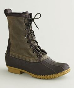 Waxed Canvas Maine Hunting Shoe, Women's: FOOTWEAR | Free Shipping at L.L.Bean