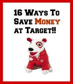 16 Ways To Save Money At Target!