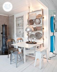 Bright.Bazaar: Home Tour: Colourful & Vintage Swedish Space