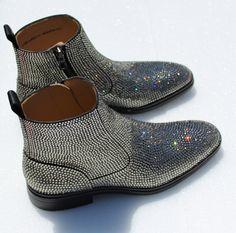 Bling Crystal custom boots