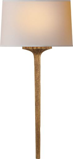 Strie Wall Sconce  very tall